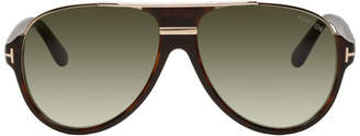 Tom Ford Tortoiseshell Dimitry Sunglasses