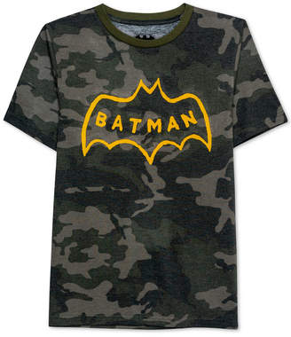 Dc Comics Big Boys Batman Logo Graphic T-Shirt