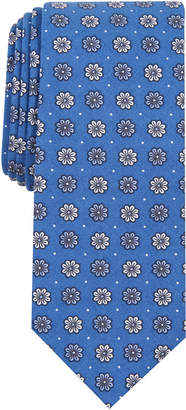 Bar III Men Daisy Dot Skinny Tie