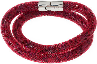 Swarovski Stardust Convertible Crystal Mesh Bracelet/Choker, Red, Small $60 thestylecure.com