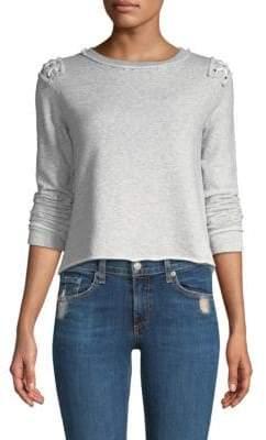 Generation Love Laurie Lace-Up Sweatshirt