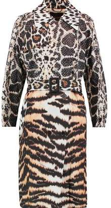 Roberto Cavalli (ロベルト カヴァリ) - Roberto Cavalli Printed Cotton-Twill Coat