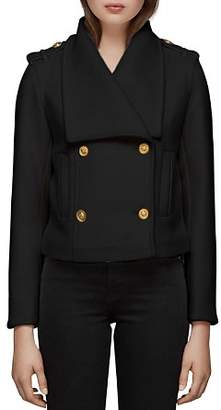 Mackage Double-Breasted Button Front Coat