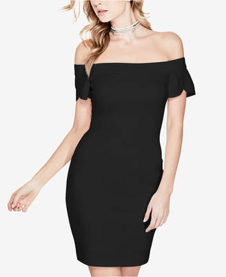 9efb19ac27 GUESS Molly Tulip-Sleeve Bodycon Dress