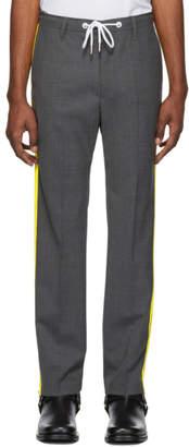 Diesel Grey Wool P-Ark Trousers