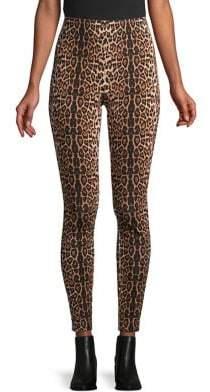 Context Leopard Print Leggings