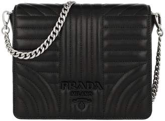 5c6896c7d9fc Prada Diagramme Crossbody Bag Nappa Nero