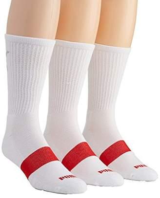 Puma Men's 3 Pack Crew Socks