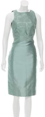 Ralph Rucci Silk Sheath Dress Mint Ralph Rucci Silk Sheath Dress