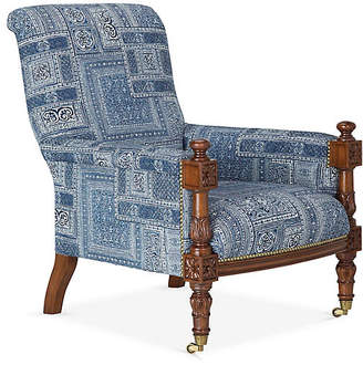 Ralph Lauren Home Harrow Lounge Chair - Lapis