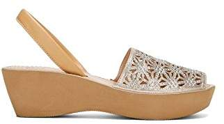 Kenneth Cole Reaction Women's Shine Far Platform Slingback Wedge Sandal
