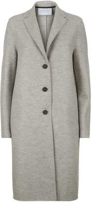 Harris Wharf London Pressed Wool Longline Coat