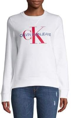 Calvin Klein Jeans Monogram Logo Pullover