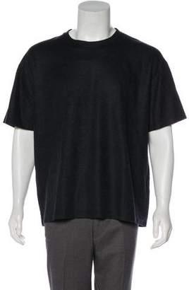 Valentino Cashmere & Silk Crew Neck T-Shirt