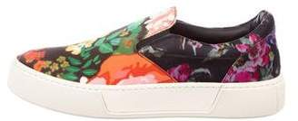 Balenciaga Floral Slip-On Sneakers