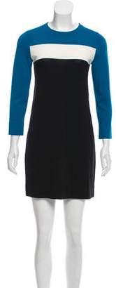 Diane von Furstenberg Colorblock Knit Dress