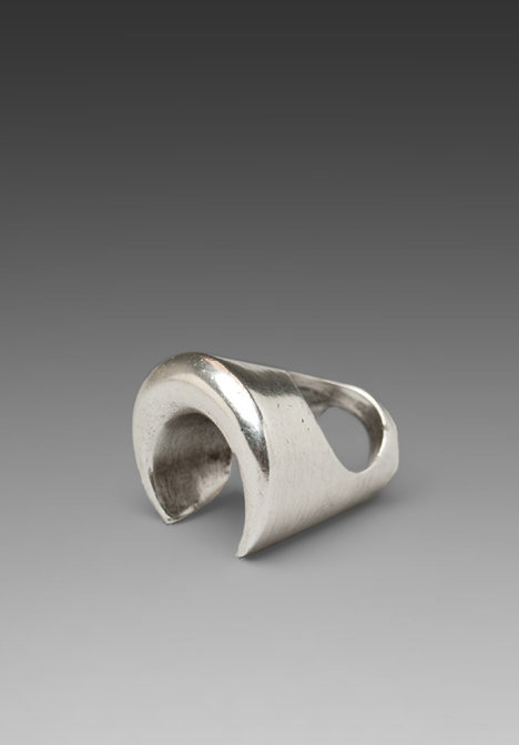 Low Luv x Erin Wasson Crescent Shaped Tall Ring