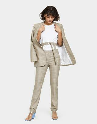 Tibi Cooper Pant with Removable Corset Belt