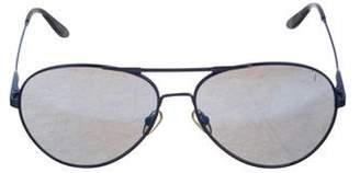 Victoria Beckham Aviator Mirrored Sunglasses