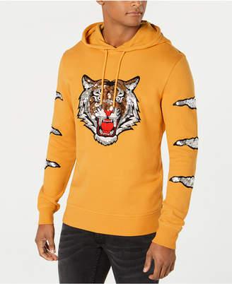 INC International Concepts I.n.c. Men's Rawr Sequin Tiger Hoodie