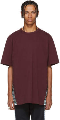 Marni Burgundy Back Detail T-Shirt