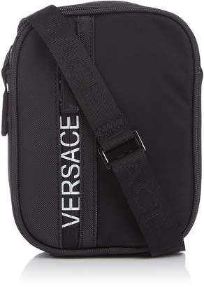 Versace Medium Logo Crossbody Bag