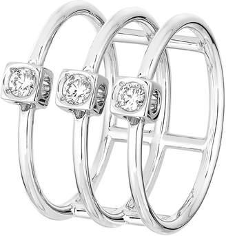 Dinh Van Le Cube Diamant Large 18k Gold Ring