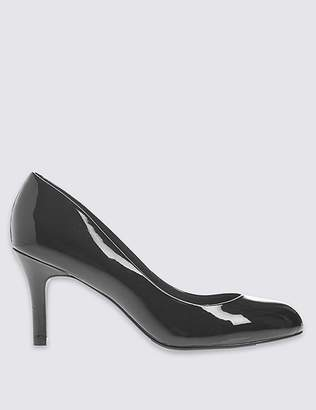 Marks and Spencer Wide Fit Stiletto Almond Toe Court Shoes