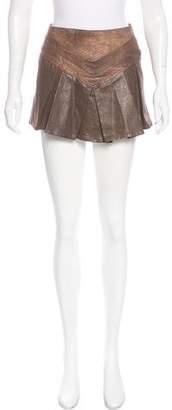 Just Cavalli Denim Mini Skirt