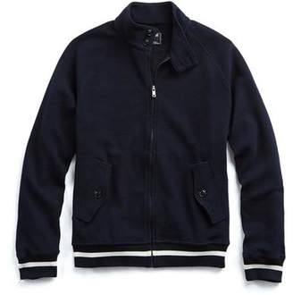 Todd Snyder Harrington Knit Jacket in Navy