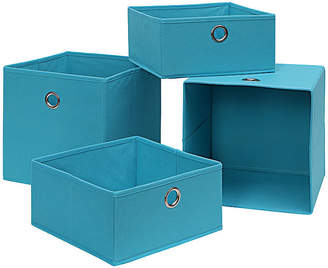 Neu Home Foldable Storage Drawer /Tray 4-Pc