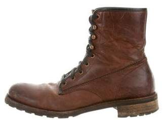 Wolverine Leather Combat Boots
