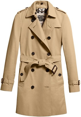 Burberry Kensington Mid-length Trench Coat