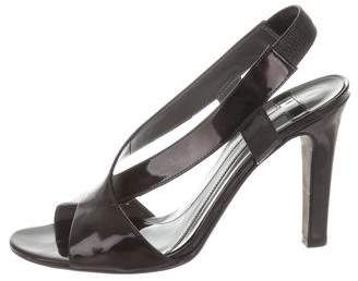 Theory Patent Leather Slingback Sandals