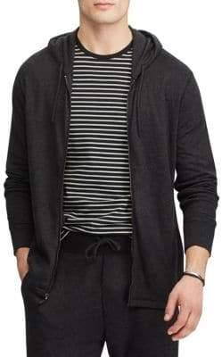 Polo Ralph Lauren Duofold Jacquard Knit Front Zip Hoodie