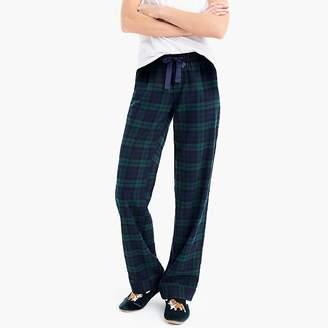 J.Crew Vintage pajama pant in flannel Black Watch plaid