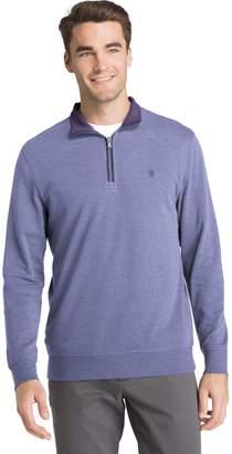 Izod Men's Saltwater Classic-Fit Fleece Quarter-Zip Pullover