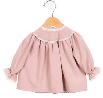 Casilda Y Jimena Girls' Lace-Trimmed Blouse w/ Tags