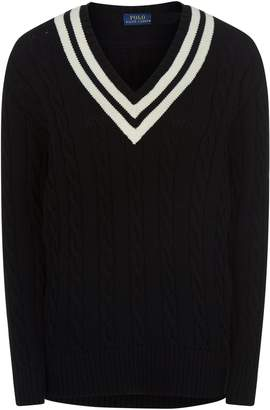 Polo Ralph Lauren Cable Knit Cricket Sweater