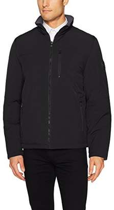 Nautica Men's Reversible Bomber Jacket