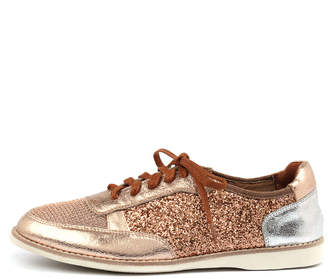 Silent d Novas Rose gold Sneakers Womens Shoes Casual Casual Sneakers