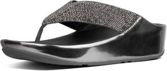 FitFlop Crystall Toe-Post Sandals