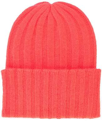 knitted beanie hat - Red P.A.R.O.S.H. BfexH27ed