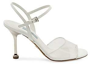 Prada Women's Plex High Heel Sandals