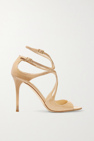 Jimmy Choo - Lang 100 Patent-leather Sandals