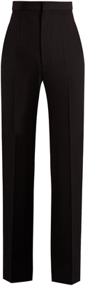HAIDER ACKERMANN High-rise wool trousers $530 thestylecure.com