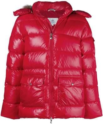 Pyrenex fur trim hood padded jacket