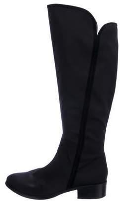 Donald J Pliner Canvas Knee-High Boots