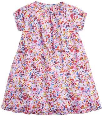 Next Girls Joules Pink Reva Jersey Frill Night Dress
