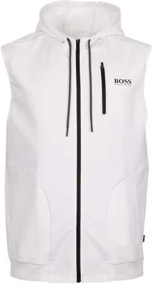 HUGO BOSS BOSS, Beach Vest - Hooded White